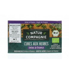 Bouillon & Aroma Natur Compagnie Herb de provence blokjes 80