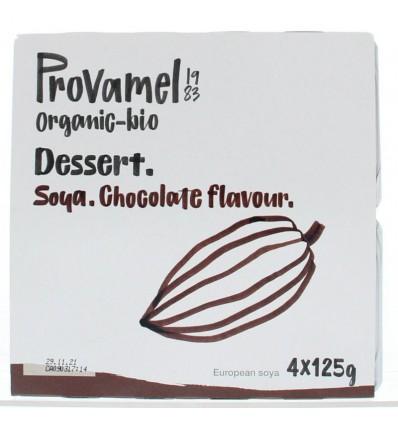 Dessert Provamel choco rietsuiker 125 gram 4 stuks kopen