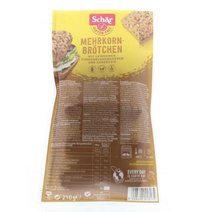 Afbakbroodjes Schär Meergranenbroodjes 210 gram kopen
