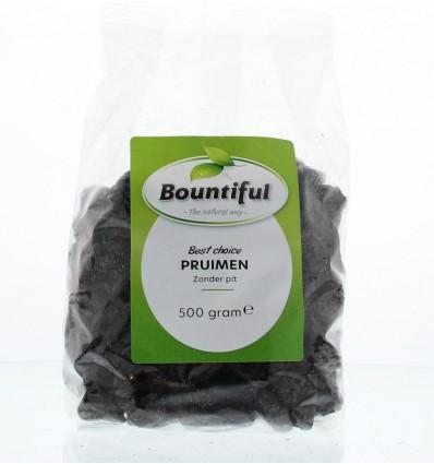 Gedroogde vruchten Bountiful Pruimen zonder pit 500 gram kopen