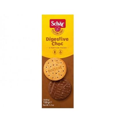 Koek Schär Digestive chocolade 150 gram kopen