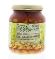 Pastasauzen Bionova Witten bonen in tomatensaus 340 gram kopen