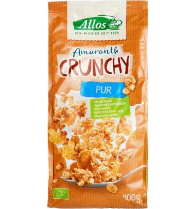 Ontbijtgranen Allos Crunchy amarant basic 400 gram kopen