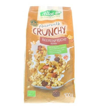 Ontbijtgranen Allos Crunchy amarant rode vruchten 400 gram kopen