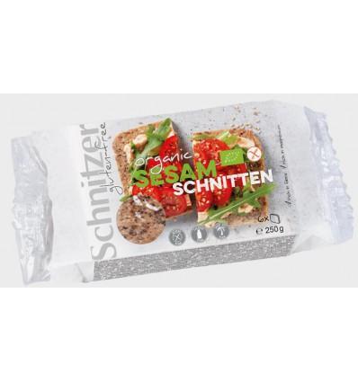 Brood Schnitzer Sesam glutenvrij 250 gram kopen