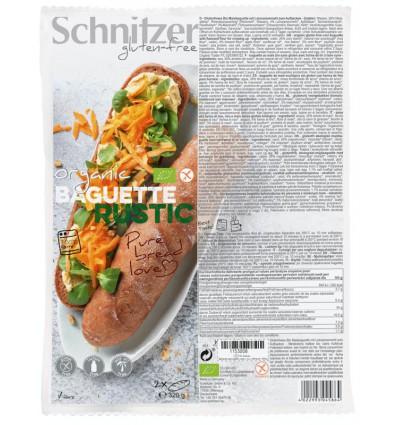 Afbakbroodjes Schnitzer Baguette rustic 160 gram 2 stuks kopen