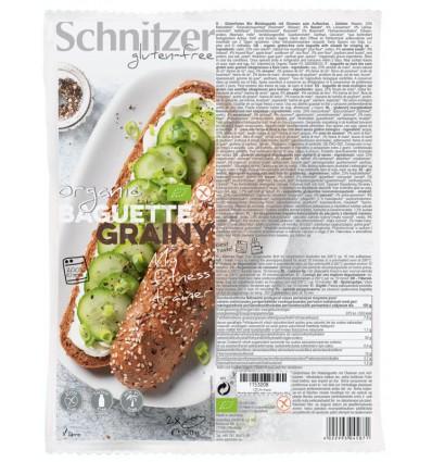 Afbakbroodjes Schnitzer Baguette grainy 320 gram kopen