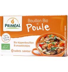 Bouillon & Aroma Primeal Kippenbouillon blokjes 10 gram 8 stuks