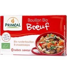 Bouillon & Aroma Primeal Runderbouillon blokjes 10 gram 8 stuks