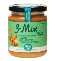 Notenboters Terrasana 3 mix notenpasta zonder pinda 250 gram