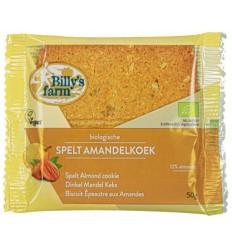 Koek Billy'S Farm Spelt amandelkoeken 50 gram kopen