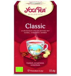 Thee Yogi Tea Classic 17 zakjes kopen