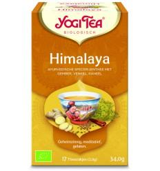 Thee Yogi Tea Himalaya 17 zakjes kopen