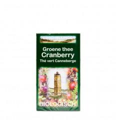 Thee Terschellinger Groene thee cranberry 20 zakjes kopen