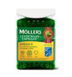 Vetzuren Mollers Omega-3 levertraancaps 160 capsules kopen