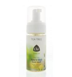 Chi Natural Life Tea tree hand & body wash foam 115 ml