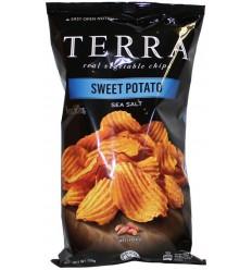 Terra Chips Chips sweet potato 110 gram