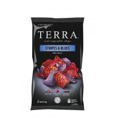 Terra Chips Stripes blues groenten 110 gram