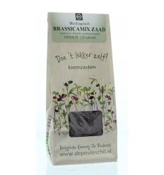 Biologische kiemerij De Peuleschil Brassicamix zaad 125 gram