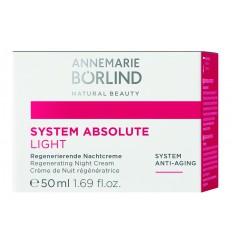 Annemarie Borlind System absolute nacht creme light 50 ml