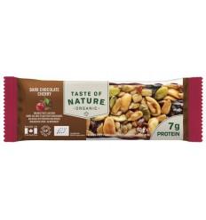 Natuurvoeding Taste Of Nature Dark chocolate cherry 40 gram