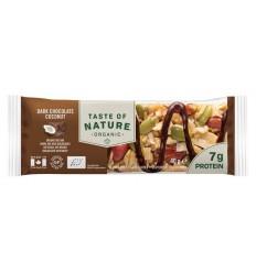 Natuurvoeding Taste Of Nature Dark chocolate coconut 40 gram