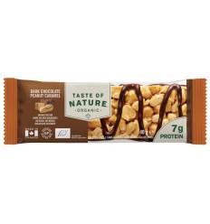 Natuurvoeding Taste Of Nature Dark chocolate peanut caramel 40