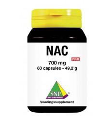 SNP N-acetyl L-cysteine 700 mg puur 60 capsules