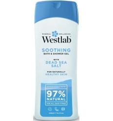 Westlab Douchegel dode zeezout verzorgend 400 ml