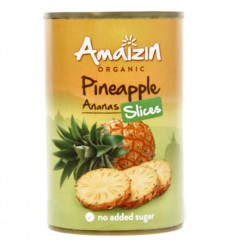 Amaizin Ananasschijven op sap 400 gram