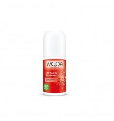 Weleda Granaatappel deodorant roll-on 24h 50 ml