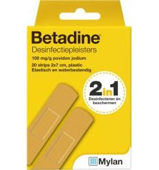 Betadine Desinfecterende pleisters 20 stuks
