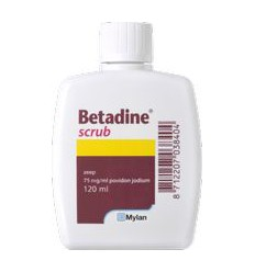 Betadine Scrub 120 ml