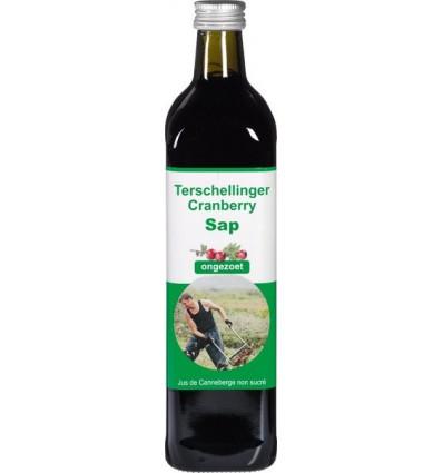 Cranberrysap Terschellinger puur ongezoet 750 ml kopen