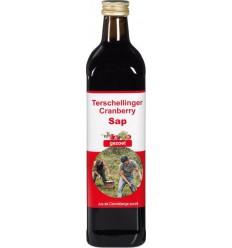 Terschellinger Cranberrysap puur zoet 750 ml