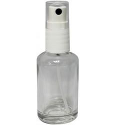 Lichtwesen Flesje van helder glas met sproeikop leeg 30 ml