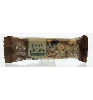 Repen Taste Of Nature Brazilian nut granenreep 40 gram kopen