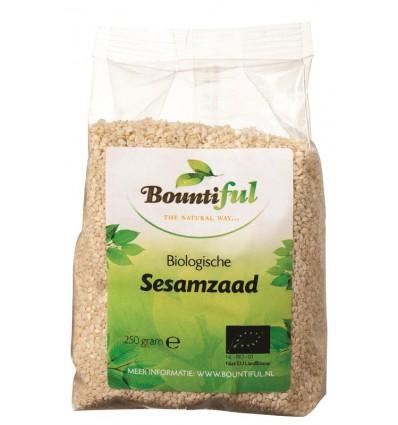Sesamzaad Bountiful bio 250 gram kopen