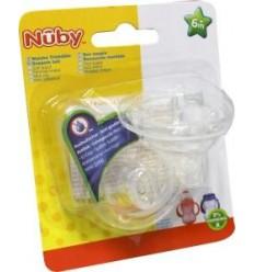 Nuby Eco PP drinktuit anti lek 6+ 2 stuks